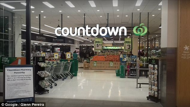 Mr Kasiske then says the Countdown Ponsonby worker turned to his wife and asked for her identification as well, despite her being in her early 30s