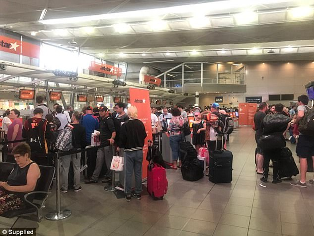 'It's just ridiculous, I'm about to hop in a cab to the airport and I get this text from Jetstar saying my flight was cancelled,' one passenger told Daily Mail Australia