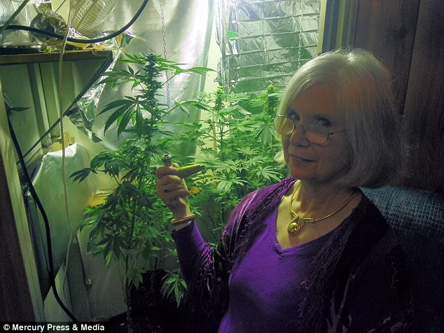 Ms Francey adds marijuana improves older people's quality of life and eases anxieties