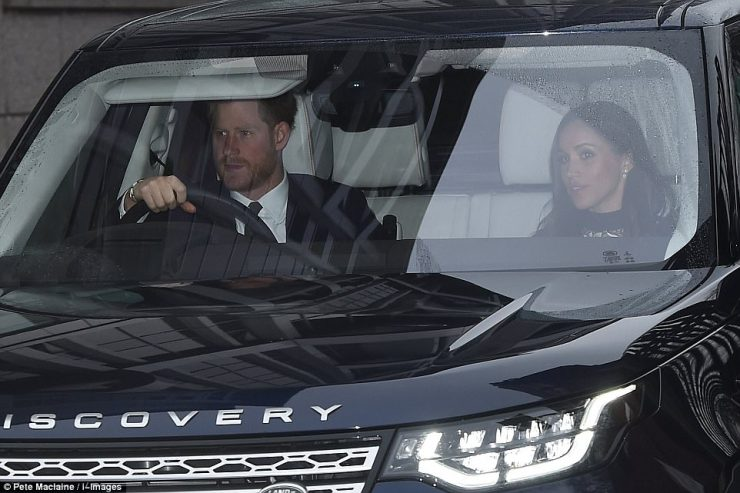 Meghan Markle is joining Prince Harry and members of the royal family for the Queen's annual Christmas lunch at Buckingham Palace today