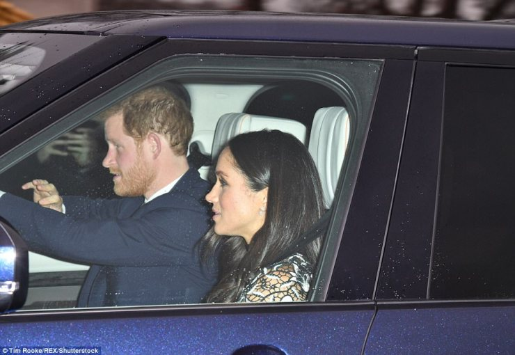 Meghan's attendance today comes just a few days before she heads to Sandringham in Norfolk where she will spend Christmas with the royal family