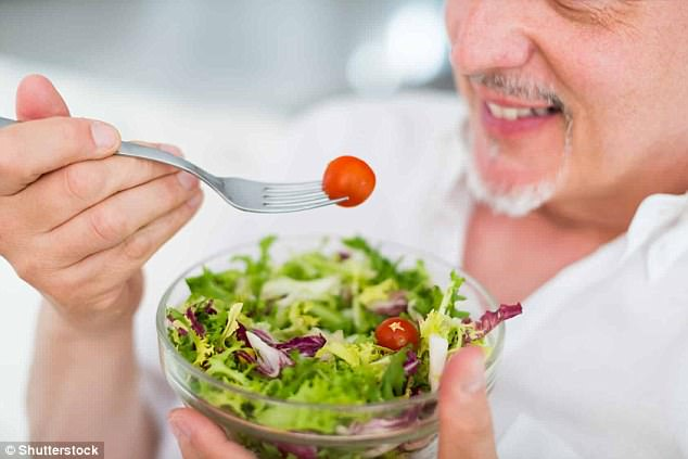 For older people, eating one salad a day was linked to slower mental decline in a new study