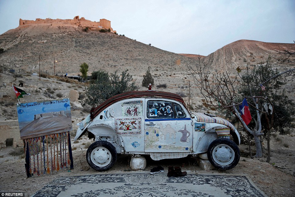 Mohammed Al Malahim Claims That His VW Beetle, Pictured, Is The Worldu0027s  Smallest