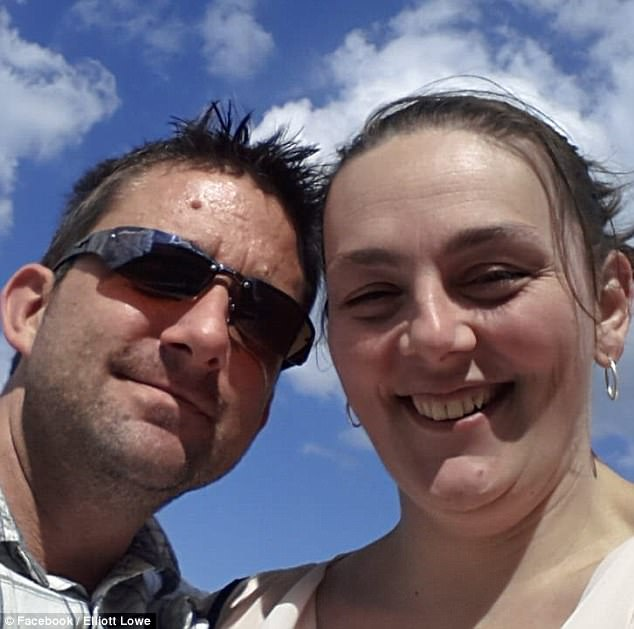 Three days before Christmas most people are well and truly in the festive mood, enjoying quality time with their friends and family. But for Donna and Elliott Lowe (pictured), December 22 was like something out of a nightmare
