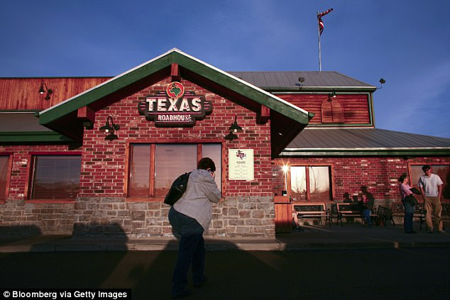 The Texas Roadhouse earns a respectable B grade from the Post's understandably caustic critic, who suggested that hungry patrons stick with the mea