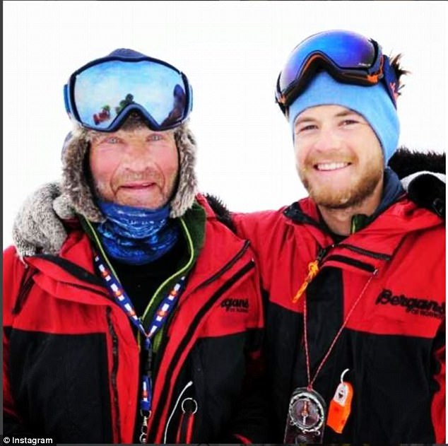 Durham-born Robert Swan, 61, made history in 1989 as the first man to walk to both the North and South poles. His son Barney, 23, is hoping to reach both poles using only renewable energy