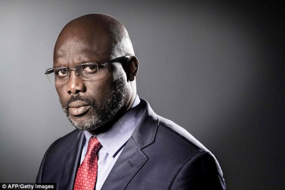 Image result for president weah