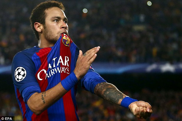Neymar declared 'Barcelona and Catalonia will always be in my heart' when leaving the club