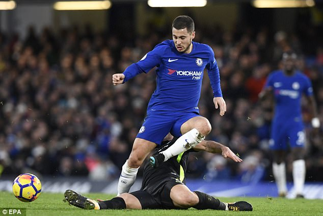 Eden Hazard continues to be a stand-out player for both club and country