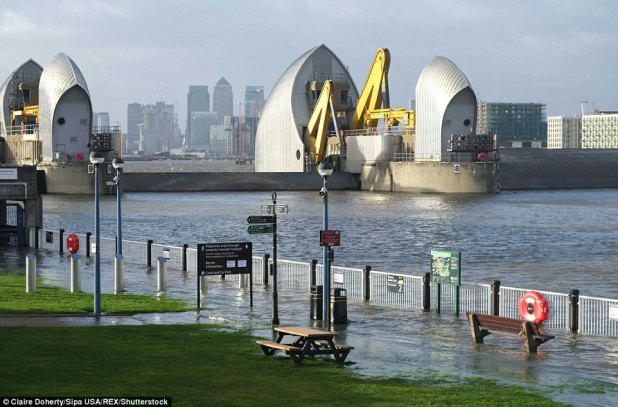 The Thames Barrier was once shut for the a hundred and eightieth time because it opened in 1984 to offer protection to London from tidal floods