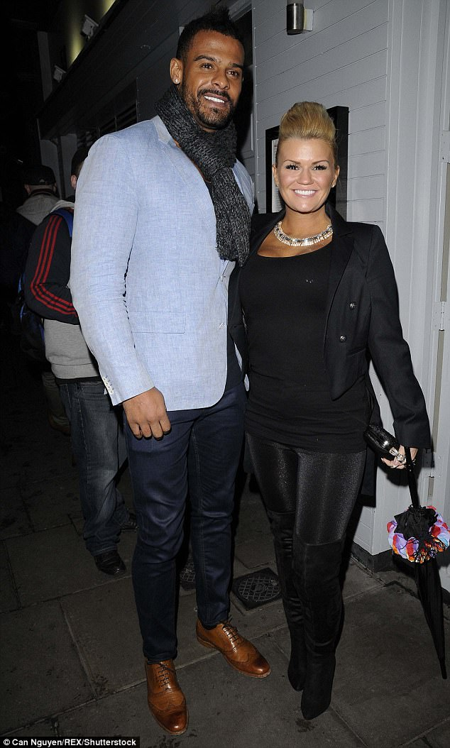 Claim: It has been claimed Kerry's estranged husband George Kay has demanded a £20,000 a month divorce settlement which will equal £1m over four years, reports The Mirror Online