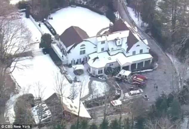 Fire At Bill And Hillary Clintons Chappaqua Property