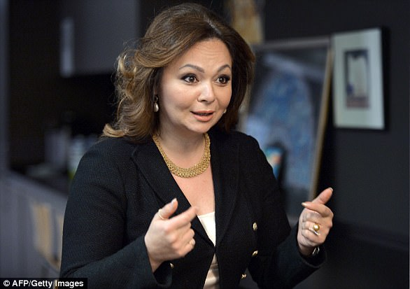 A image taken on November eight, 2016 reveals Russian lawyer Natalia Veselnitskaya speaking at some level of an interview in Moscow