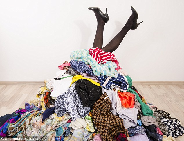 Image result for hoarding clothes