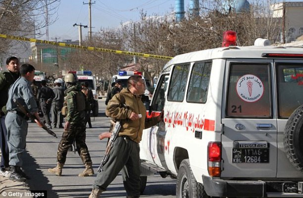 Safety forces shut to the web page of the triple blast in the Afghan capital in December
