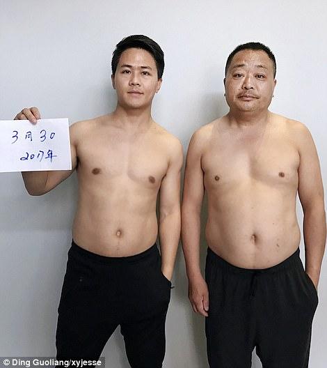 El padre y algunos vienen de la provincia de Fujian en el sudeste de China