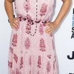 Pretty In Pink: Salma Hayek at  the Film Independent Spirit Awards