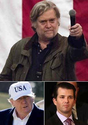 Steve Bannon apologises to the president and Don Jr