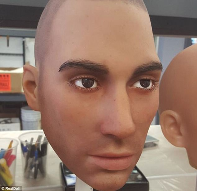 Harmony allows android companions to talk, learn and satisfy customer's sexual desires. Currently there are only only female versions of Harmony avatars and robotic heads but founder Matt McMullen thinks there is a demand for male versions