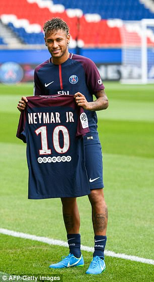 He departed the club for PSG in the summer