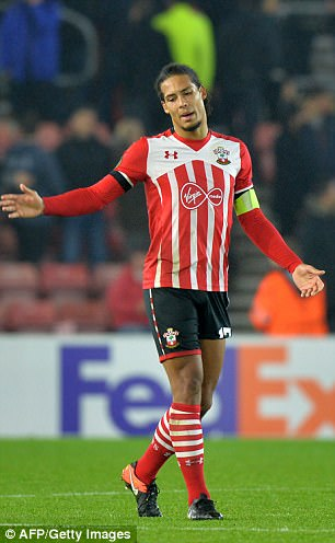 Southampton can at least take solace from this month's business after selling Virgil van Dijk