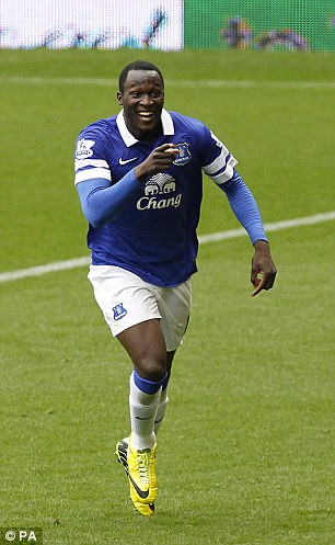 Everton took a huge punt on Romelu Lukaku when they paid Chelsea £28m to sign him