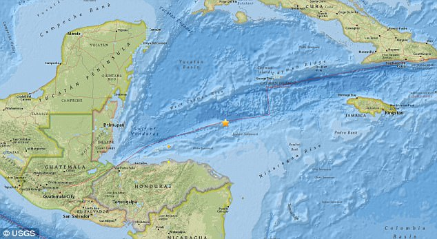The Pacific Tsunami Warning Center said a tsunami advisory had been put in place for Puerto Rico and the US Virgin Islands after the earthquake. The warnings were later canceled