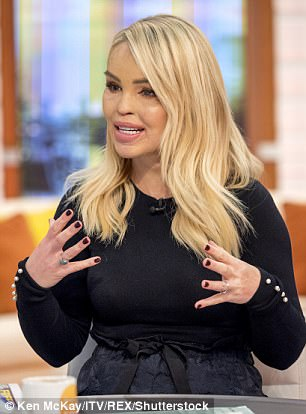 Coming up:The blonde was promoting her upcoming theatre tour on the show, titled Katie Piper: What's In My Head