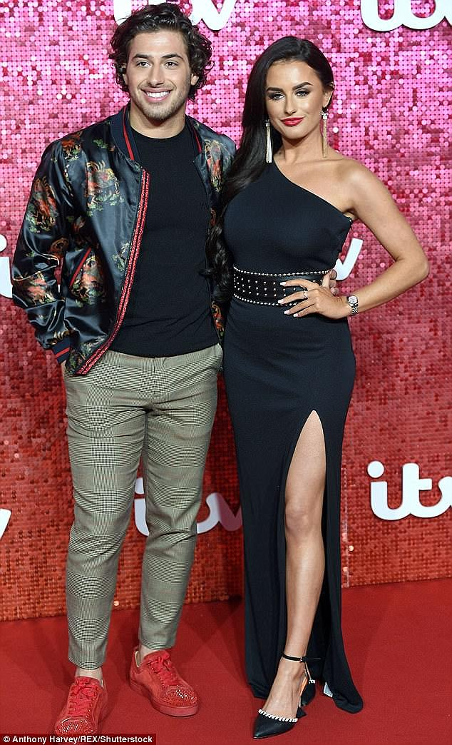 Amber recently broke up with Kem Cetinay who she met during the last season of Love Island