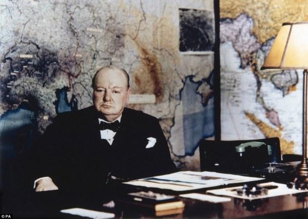 Rare insight into Churchill War Rooms underneath London ...