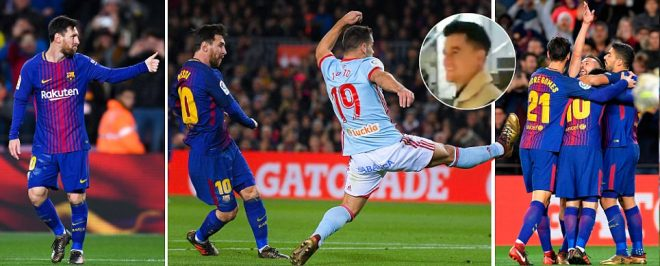 Barcelona vs Celta Vigo, Copa del Rey LIVE: