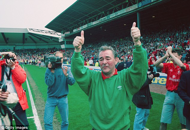 It was a childhood meeting with the iconic Brian Clough which made Howe dream of managing