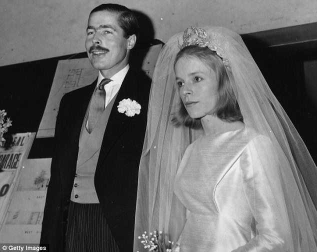 Lady Lucan (right) was one of the last people to see Lord Lucan (left) alive before he became the most famous fugitive in the world. The couple are pictured on their wedding day in 1963