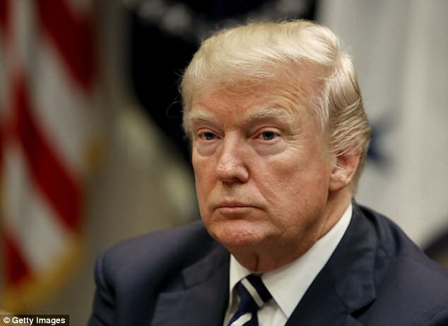 Donald Trump (pictured in the White House last week) announced on Twitter that he will not be coming to the UK to open the new US embassy in London