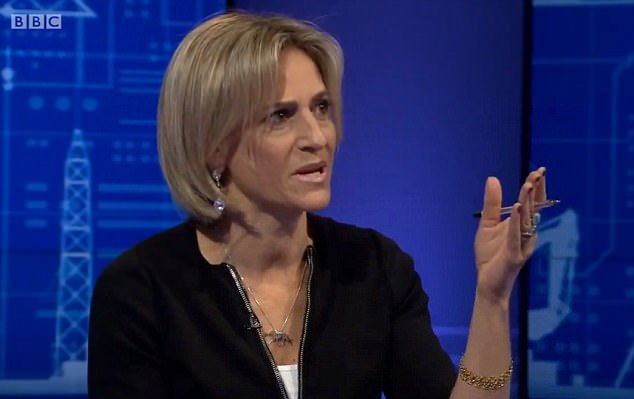 Newsnight presenter Emily Maitlis said she had been let down by the criminal justice system