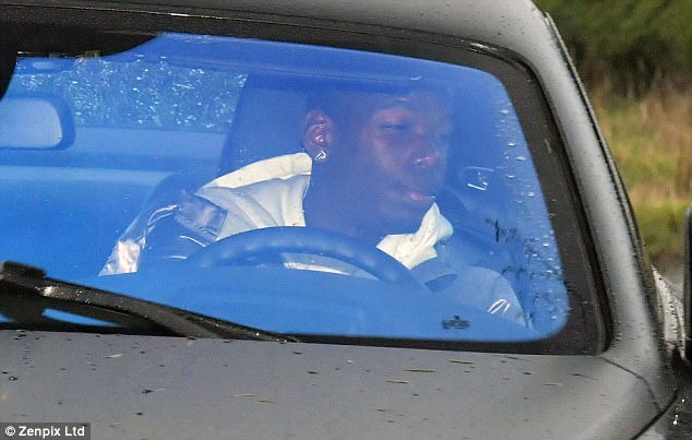 The Frenchman joins team-mate Romelu Lukaku in upgrading his motor to a flash Rolls Royce