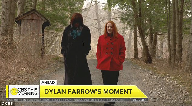 'He's been lying for so long',' said Farrow, who was adopted by the director and actress Mia Farrow, in an emotional interview with Gayle King on CBS This Morning on Thursday