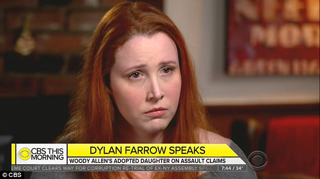 Farrow first alleged she was molested by Allen, when she was just seven years old, in 1992. For the first time in a TV interview, Farrow described what allegedly took place on the day in question, while her mom was out shopping