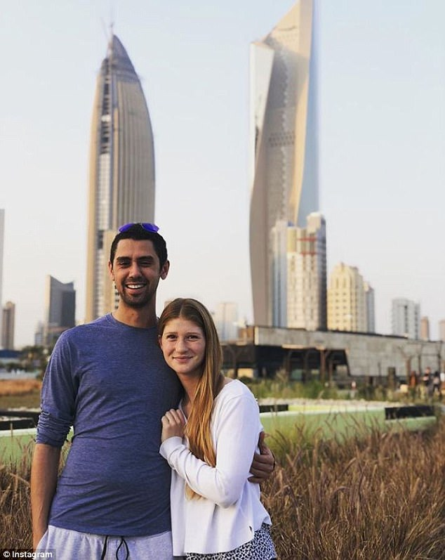 Jennifer and Nayel ended 2017 by visiting Kuwait, which is where Nayel grew up