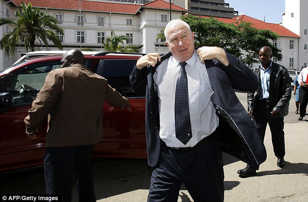 Mr Bennett was jailed in Zimbabwe for pushing a minister to the ground during a debate