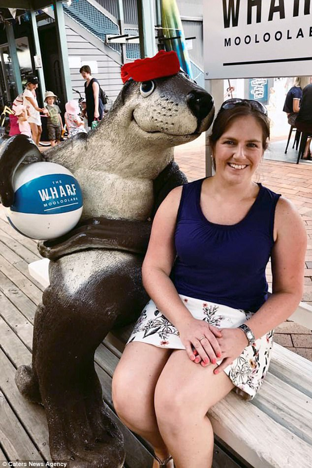 Sarah (pictured) said she is 'furious' the Banana Boat sunscreen did not protect her against the severe sunburn, which she said took over three weeks to heal