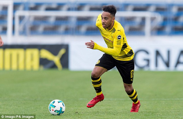 Arsenal have improved a bid to £50.9m for Borussia Dortmund's Pierre-Emerick Aubameyang