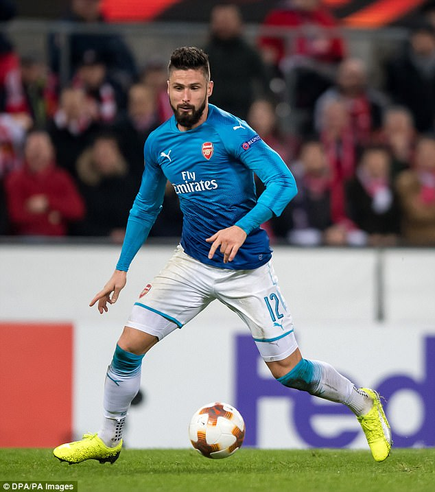 Dortmund want to land a replacement for Aubameyang and have lined up Olivier Giroud