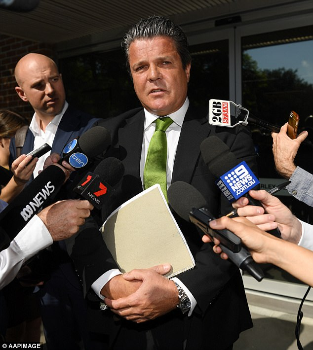 Tom Hughes, the Barrister acting for Salim Mehajer, addressed the media after his client was refused bail on Wednesday