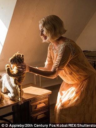 Shooting star: Since then, Margot has taken on a variety of Hollywood roles, including Goodbye, Christopher Robin (pictured) and Suicide Squad