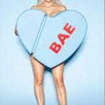 Kim Kardashian Promotes New Perfume 'BAE'