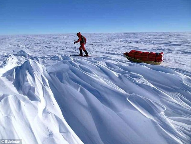 Robert Swan said the message from the expedition was that if renewable energy could be made to work at the South Pole, it could work anywhere