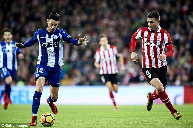 Centre-back Laporte has been a virtual ever-present for Athletic Bilbao this season