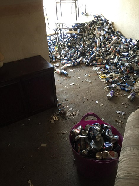 Maidstone landlord returns to flat buried in empty cans ...