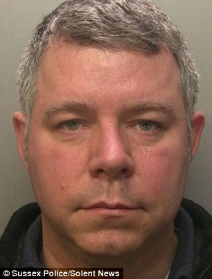 David Allison, 48, of Ottershaw, Surrey, has been jailed for three years after police raided his home and found a haul of indecent photos